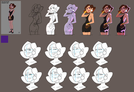 zoe  clean up studies.jpg