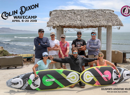 THE place to learn to wave ride: Punta San Carlos, Baja 2019