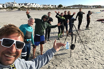 Cape Town windsurfers