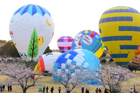 Watarase Balloon Race 2019