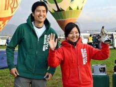 佐賀新聞に掲載されました<バルーンフェスタ>藤田選手、妻と「地元V」