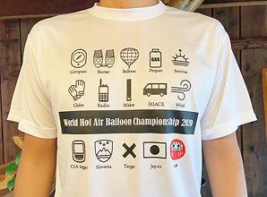 世界選手権応援Tシャツ