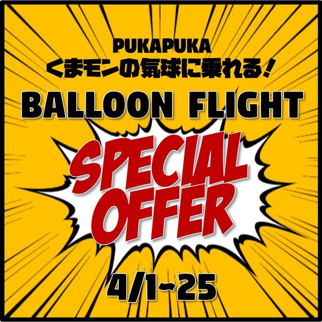 Balloon Flight Special Offer
