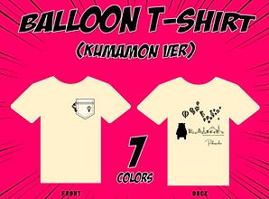 気球Tシャツ(くまモンver)