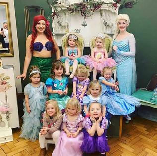 Happy 4th Birthday to Princess twins!