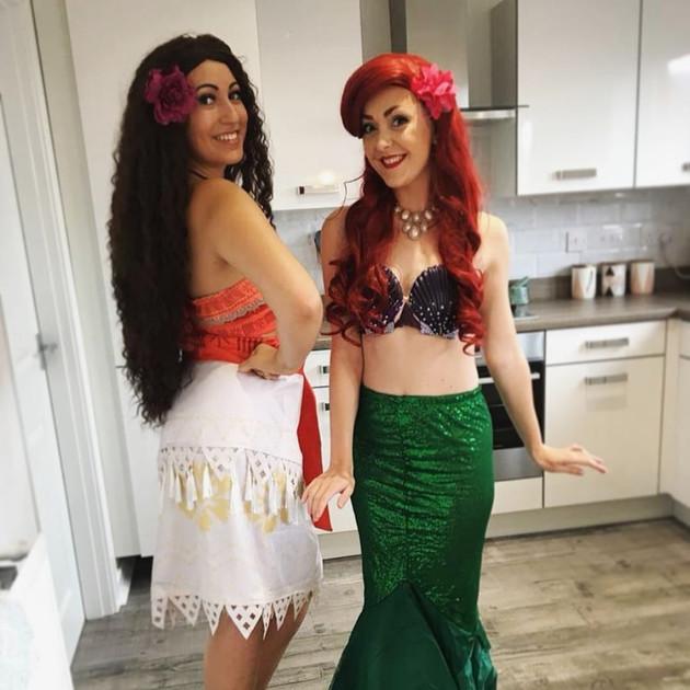 Island Princess and Mermaid Princess