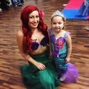 The Mermaid Princess at Mimi's Party