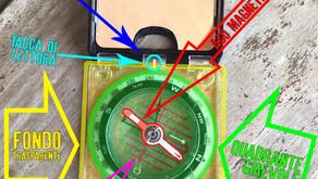 L'uso della bussola da carteggio/traguardo - parte 1