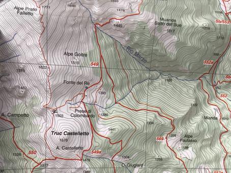 Lettura della carta topografica - parte 1