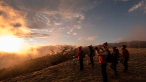 Le escursioni invernali al tramonto