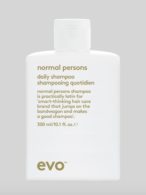 normal persons - daily shampoo