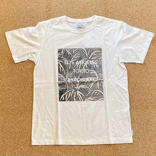 <BANKS>半袖Tシャツ [OFF WHITE]