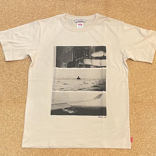 <ROIAL>半袖Tシャツ  [BEIGE]
