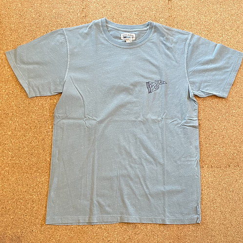 <BANKS>半袖Tシャツ[BLUE FOG]