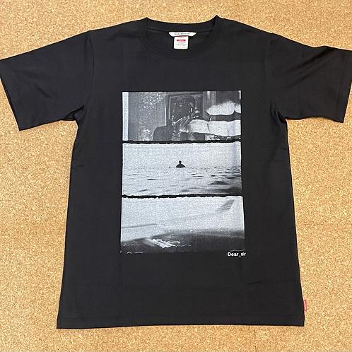 <ROIAL>半袖Tシャツ [BLACK]