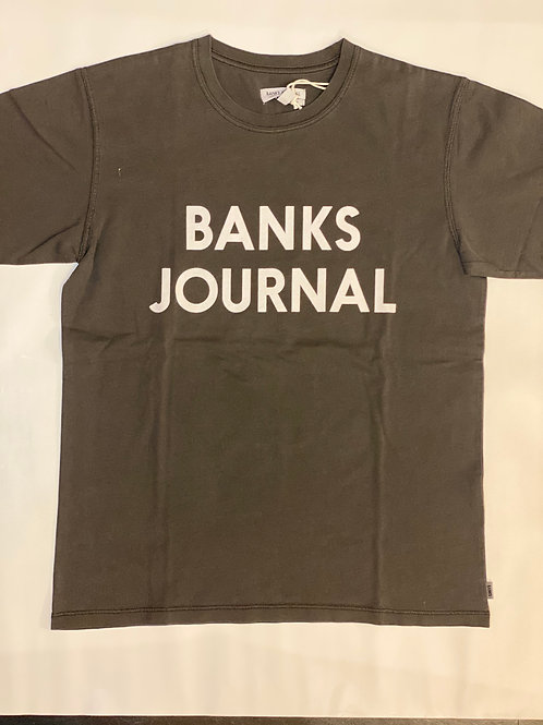 <BANKS>Tシャツ DIRTY BLACK