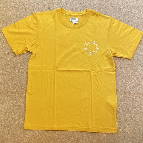 <BANKS>半袖Tシャツ [SAFFRON]