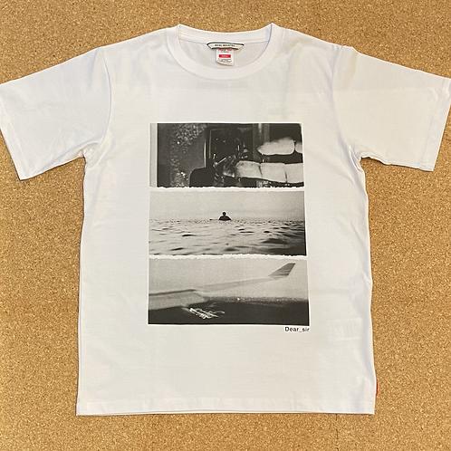 <ROIAL>半袖Tシャツ [WHITE]