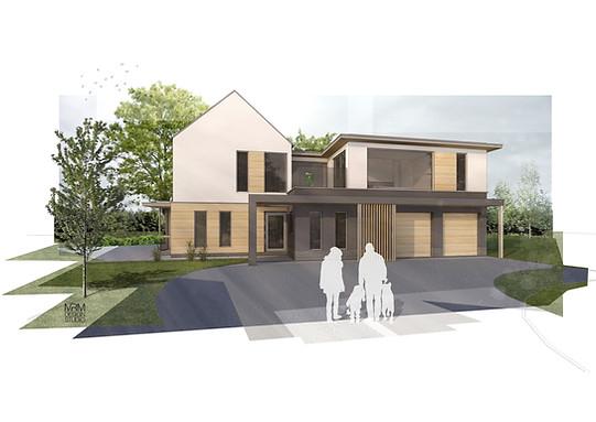 Conversion of a bungalow