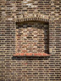Exterior - niche window
