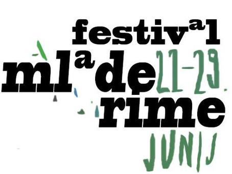Nezadržno prihaja ... 8. festival Mlade rime