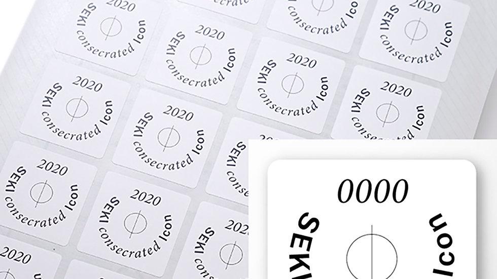 Icon seal Light(大)sheet