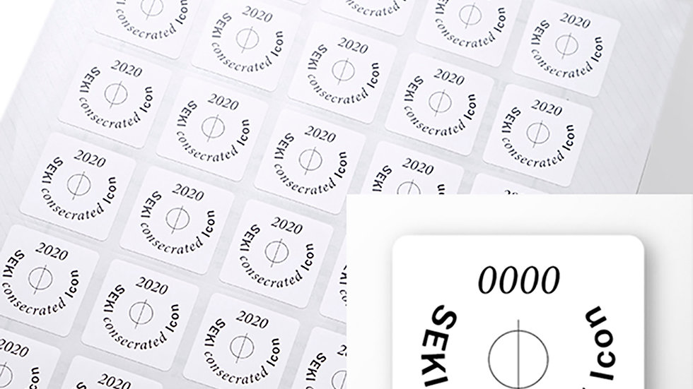 Icon seal Light(中)sheet