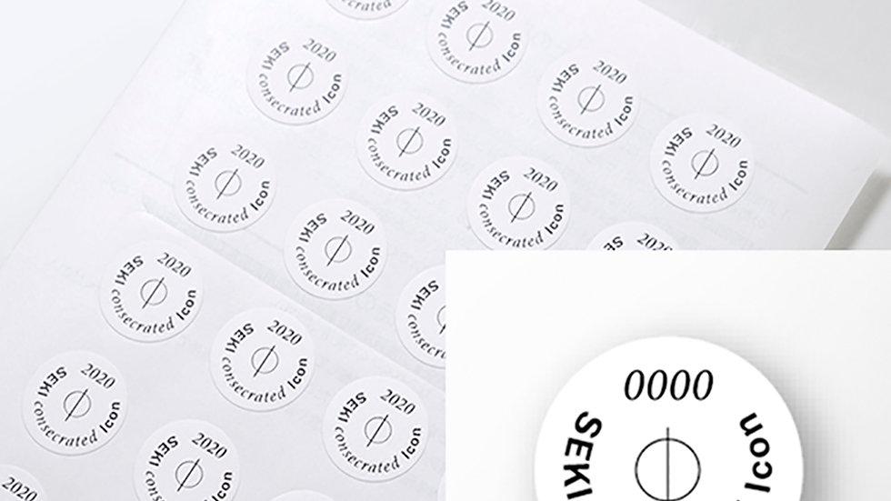 Icon seal Light(ミニ)sheet