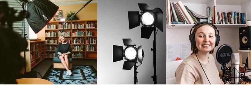 Studio light high CRI