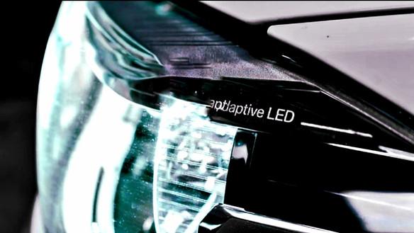 Adaptive headlight ADB