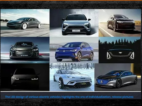 The new era of electronic cars is a beautiful era for designers to personalize cars with LEDs.GPILED