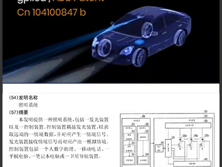 gpiled launch the pixel LED ADB solution to support car lighting with patent Cn104100847b