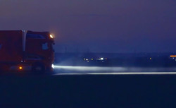 Truck headlight LED