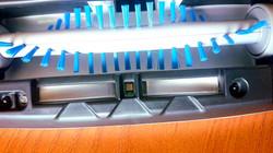 Vacuum cleaner UVC LED