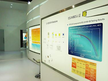 新世紀水平晶片與覆晶技術 2014廣州照明展獲好評