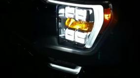Truck pickup headlight