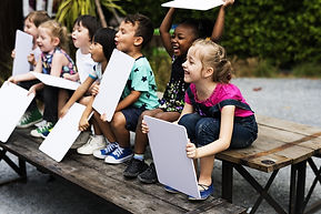 bigstock-Group-of-Children-are-in-a-Fie-