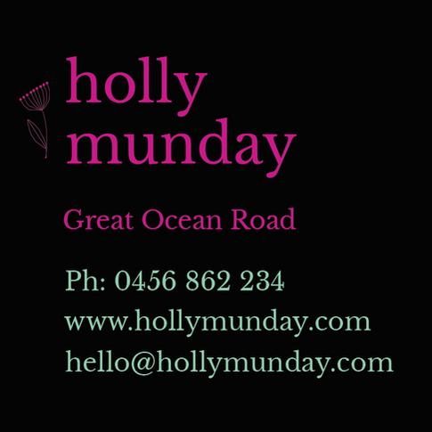 Holly Munday Bespoke Catering.