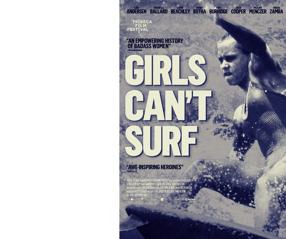 MAKING WAVES: Girls Can't Surf