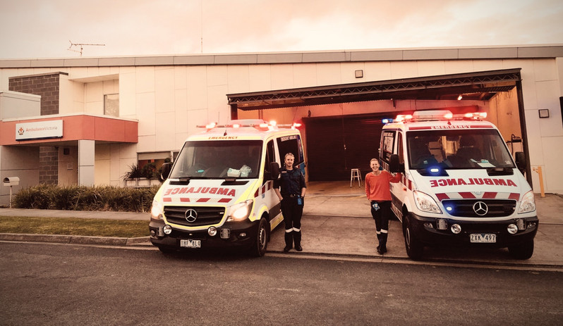 Peter & Tiffany from Apollo Bay Ambulance
