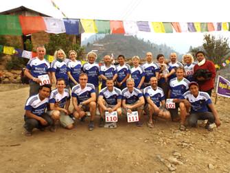 A trail marathon with a purpose