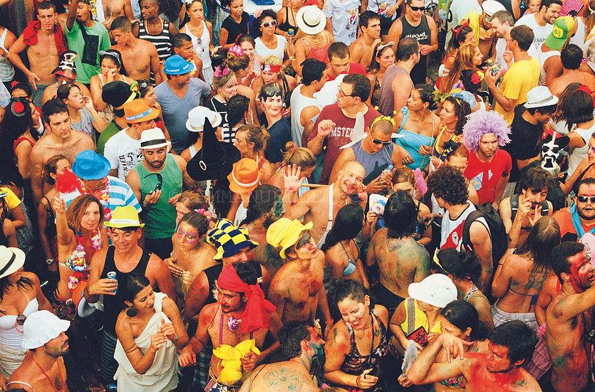 Carnaval de rua , Praça Tiradentes, 2013