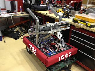2013 robot in pits