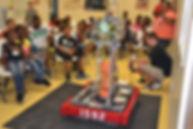 2012 robot at outreach even