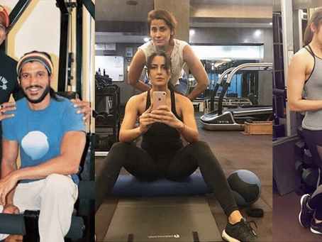 Stay fit in lockdown with celebrity fitness trainers on Instagram