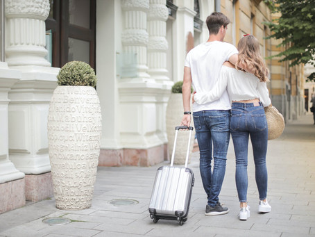 Try these hacks to share a suitcase with your partner