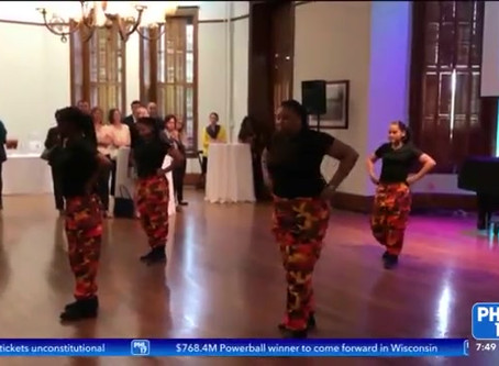 PHL 17 Jennifer Lewis-Hall Hosts Stomp for Success Pre Show