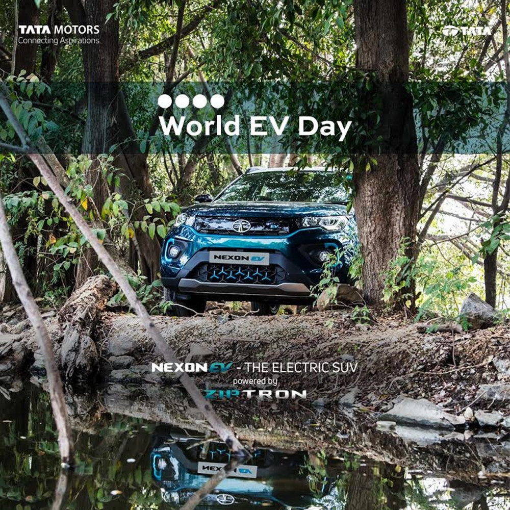 TATA MOTORS JOINS THE GLOBAL #WORLDEVDAY MOVEMENT TO CELEBRATE E-MOBILITY