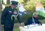 S JAISHANKAR PAYS HOMAGE TO BHARATIYA SOLDIERS AT WAR CEMETERY IN ISRAEL