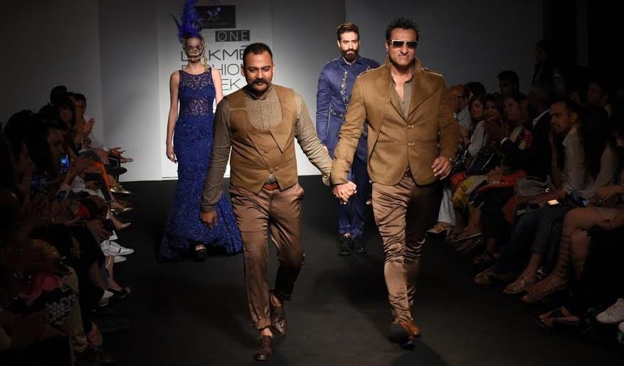 "Designer Lalit Dalmia showcased his exclusive collection ""Unexplored Poised"" at Lakme Fashion Week 2"